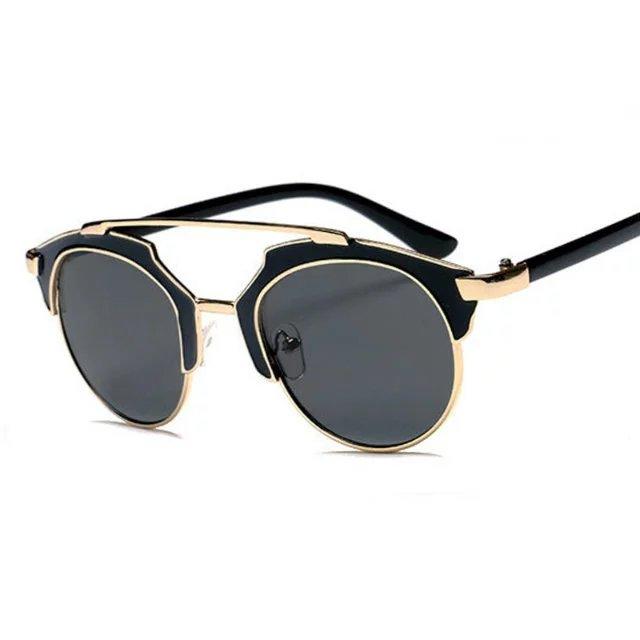 Vintage Metal Frame Glasses : Fashion Women Cat Eye Sunglasses Vintage Metal Frame Men ...