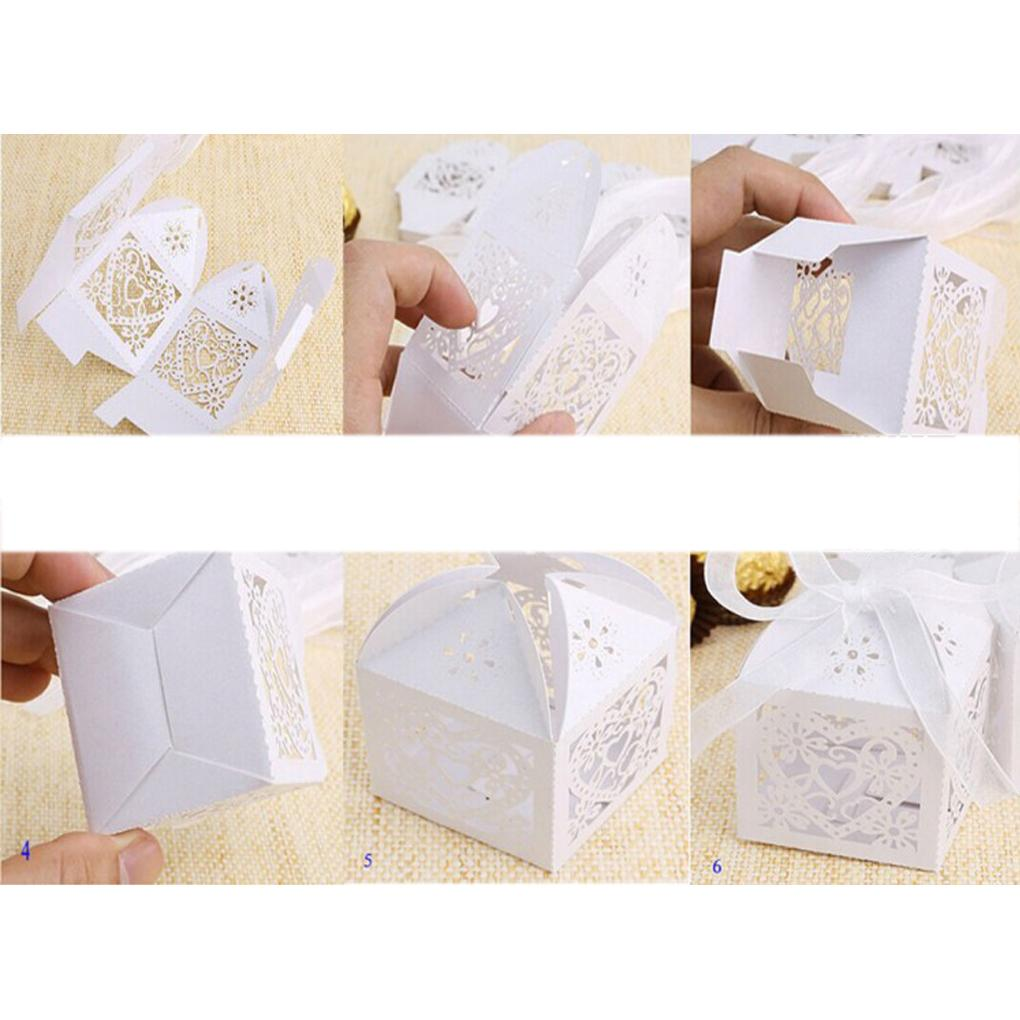 2015 New arrival Butterfly Candy Box DIY Folding Party Wedding Decoration Gift Paper Favors Boxes 7 colors(China (Mainland))
