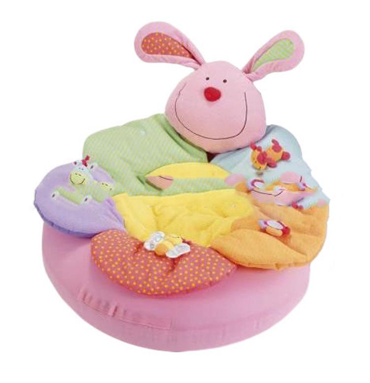 Baby Blanket & Swaddling inflatable game pad Pink rabbit blanket sofa free shipping(China (Mainland))