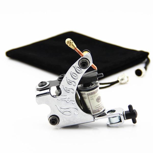 Машинка для тату 10 Shader&Liner 4 pcs liner shader tattoo rotary motor gun machine kit set swashdrive