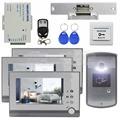 DIYSECUR Strike Lock Video Door Phone Doorbell Video Intercom Remote Control RFID Metal Outdoor Camera 1