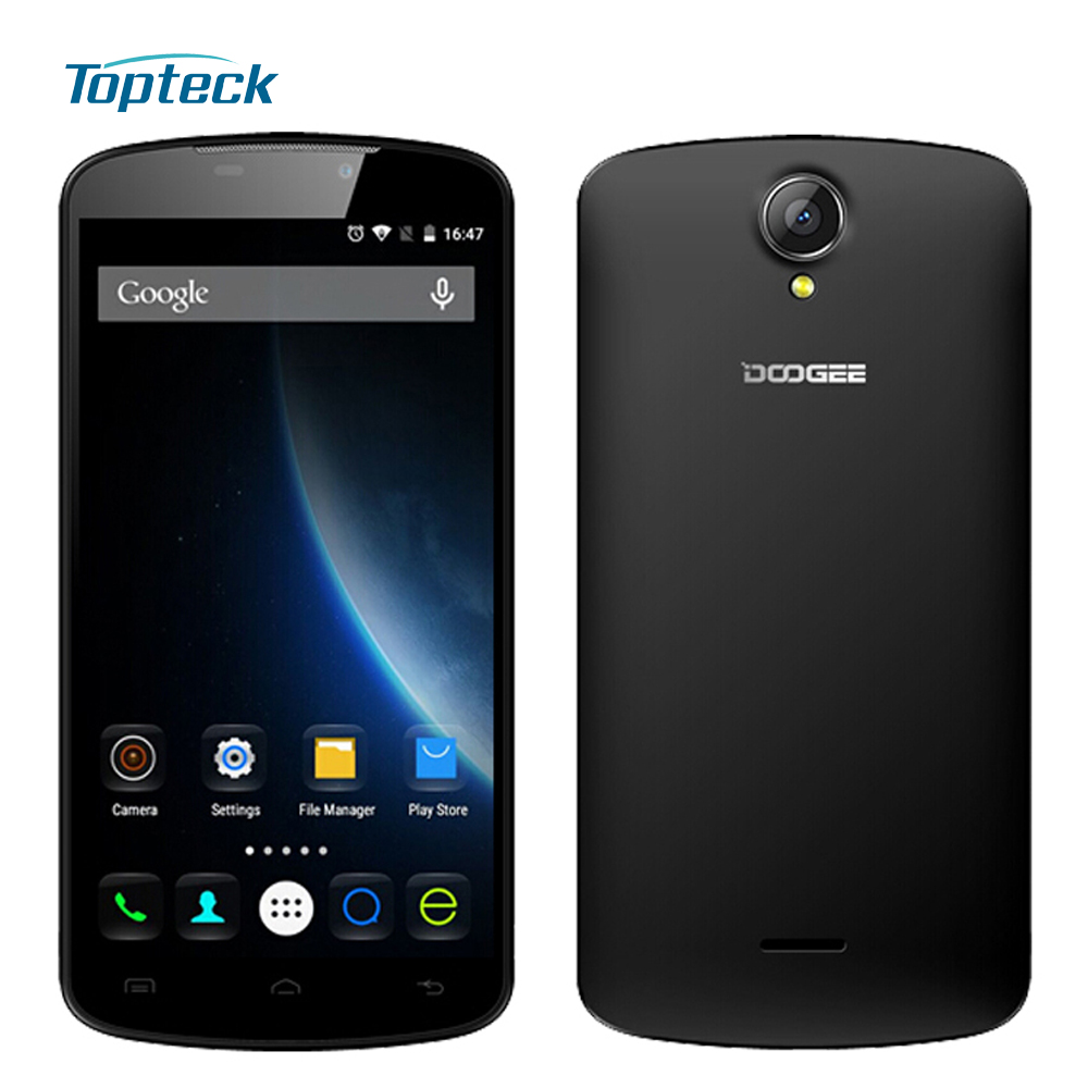 """DOOGEE X6 Pro 4G 5.5"""" IPS HD 1280*720 Smartphone Android 5.1 Quad Core MTK6735 2GB + 16GB Dual SIM 3000mAh GPS Mobile Cell Phone(China (Mainland))"""