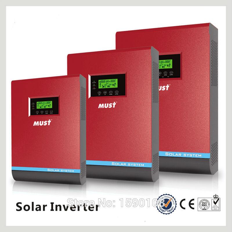 48VDC 5000VA Peak Power 10000VA Pure Sine Wave Solar Hybrid Inverter Built-in 60A MPPT Controller With Communication LCD(China (Mainland))