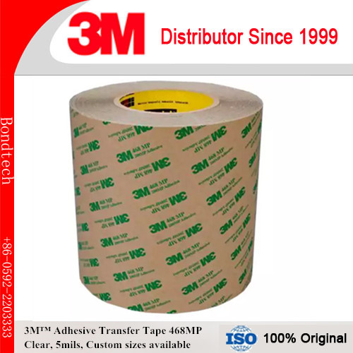 8INX8IN, 203X203MM Pack 5 3M 200MP adhesive transfer tape 468MP PCB/LED LCD free