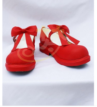 Card Captor Sakura SAKURA CARDCAPTOR cosplay lolita miku red shoes boots customzied shoes(China (Mainland))