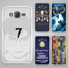 Harry Potter art Hard White Case Cover Samsung Galaxy J1 J2 J3 J5 J7 C5 C7 C9 E5 E7 2016 - Madivan store