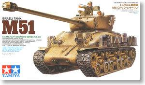 TAMIYA MODEL 1/35 SCALE Assembled military models #35323 Israeli Tank M51 Super Shaman plastic model kit<br><br>Aliexpress