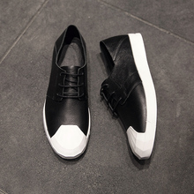 Buy 2017New Men Shoes Loafers Arrival Spring Basic Oxfords Genuine Leather Luxury Trainers Lace Owen Men Summer Boots Flats Shoes for $98.99 in AliExpress store