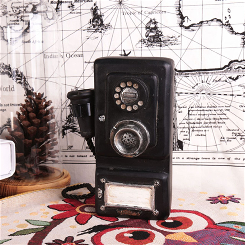 vintage europe style telephone model antique looking resin phone mold wall phone mold resin. Black Bedroom Furniture Sets. Home Design Ideas