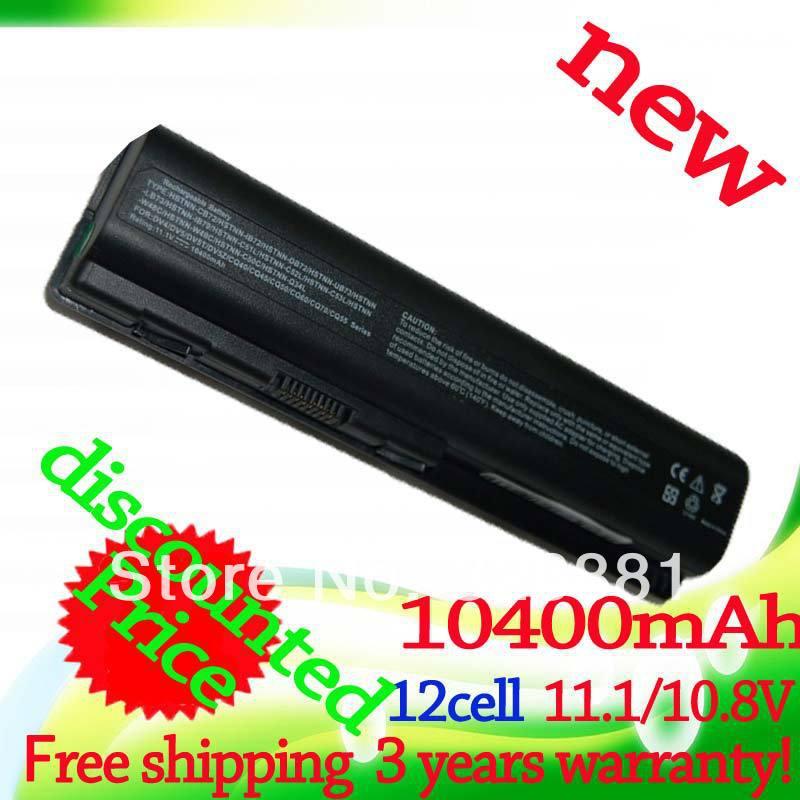 10400mAH laptop Battery For HP Pavilion DV4 DV5 DV6 DV6T G50 G61 Compaq Presario CQ50 CQ71 CQ70 CQ61 CQ60 CQ45 CQ41 CQ40(China (Mainland))