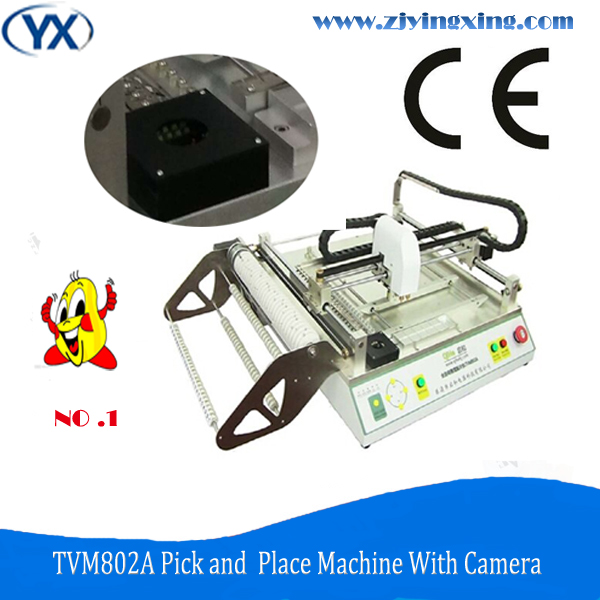 TVM802A Bulbs Tube Light SMT Pick Place Machine LED SMT Machines With Good Quality(China (Mainland))