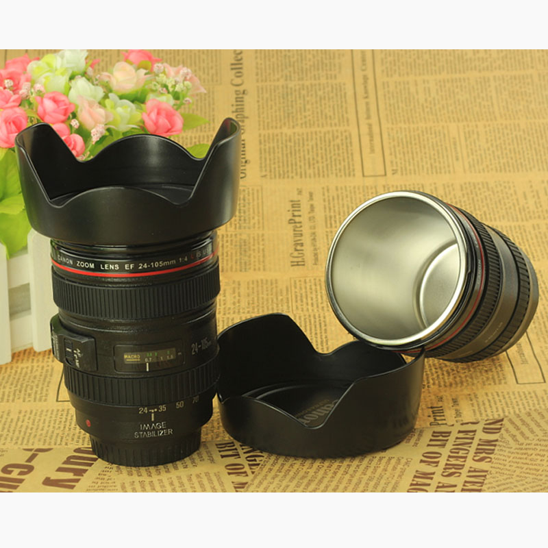 New Arrival CPAM Coffee camera lens mug cup ABS Free shipping+Wholesale(China (Mainland))