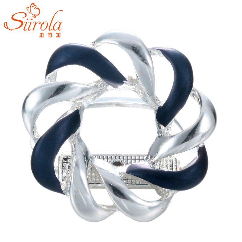 Men Women Jewelry Fashion Holiday gifts Silver plated bird's nest Corsage Shawl Scarf buckle clips Brooches pins Badge Wholesale(China (Mainland))