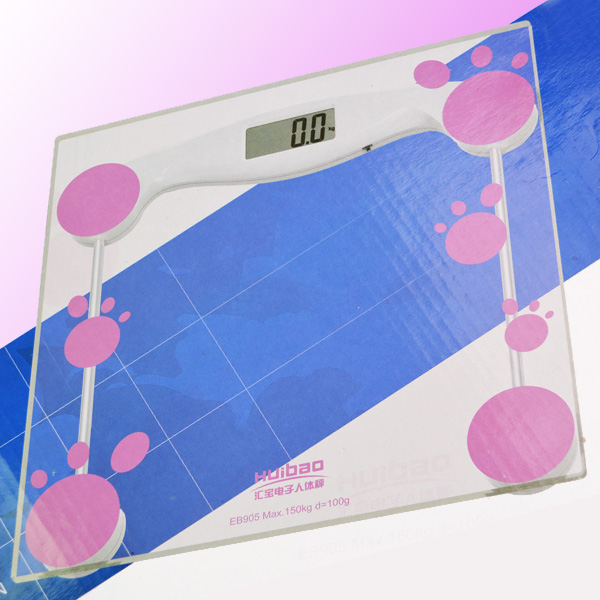 Wholesale & retail digital bathroom scale glass weight scale with Good quality,free shipping(China (Mainland))