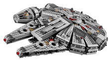 LEPIN 1381Pcs Star Wars The Force Awakens Millennium Falcon Minifigures Building Kits Rey BB8 Model Toys Building Blocks Bricks