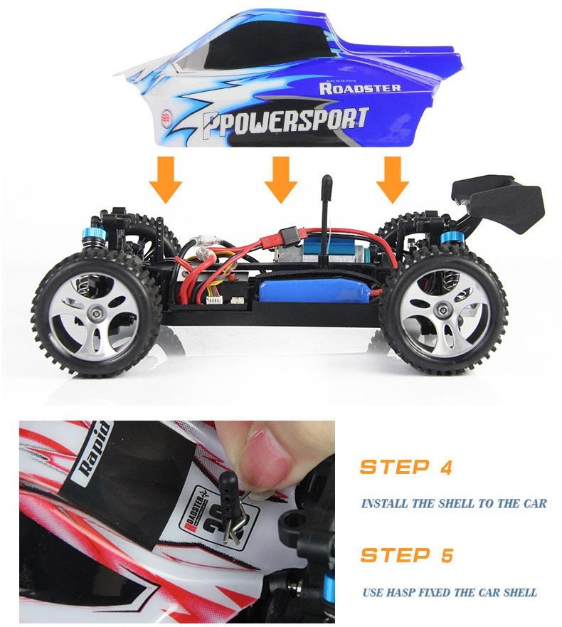 High speed rc car 2.4G 4CH Shaft Drive RC Car High Speed Stunt Racing Car Remote Control Super Power Off-Road Vehicle toy car