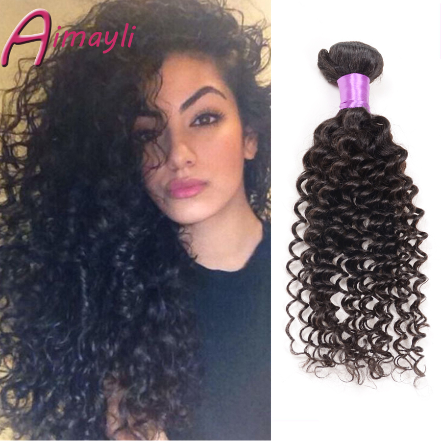 6A Top quality Free Shipping 3 Bundles Peruvian deep wave hair extensions rosa hair products mac makeup peruvian curly hair<br><br>Aliexpress
