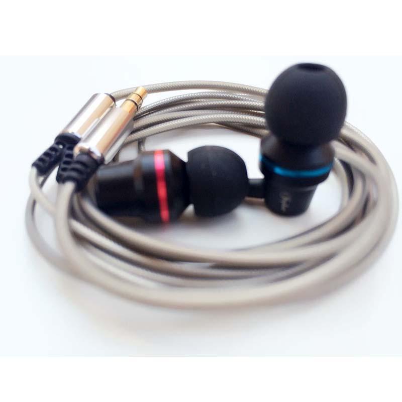 Hot Sale 3.5mm Earphone Metal headset In-Ear Earbuds For Mobile phones computers MP3 MP4 Earphones