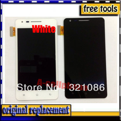 White Original LCD Display +Digitizer touch Screen FOR OPPO Finder X907 Assembly +Free Shipping(China (Mainland))