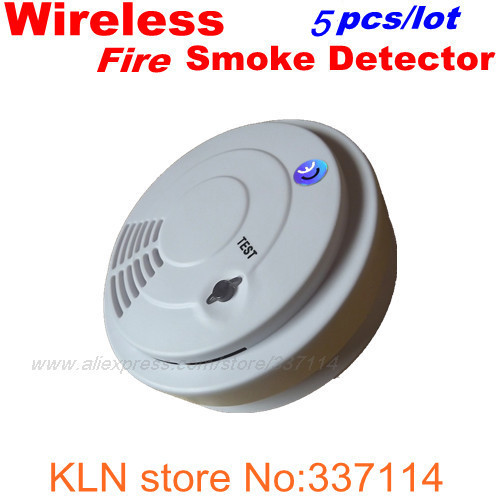 wireless 433mhz smoke detector fire alarm system. Black Bedroom Furniture Sets. Home Design Ideas