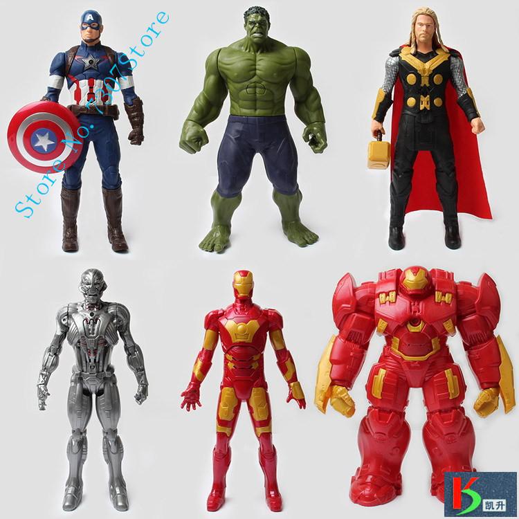 The Avengers font b figures b font super hero toy doll hulk Captain America superman batman
