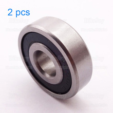 Buy 2pcs/pack Rubber Sealed Sealing Deep Groove Ball Bearing 6200RS 6200 RS 10*30*9mm Pit Dirt Bike ATV Quad Buggy Go Kart for $5.23 in AliExpress store