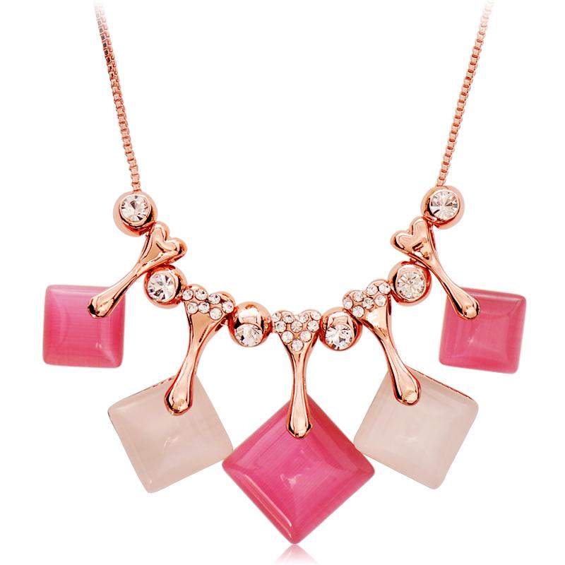Accessories brief magic cube fashion all-match accounterment - eye female necklace short design chain(China (Mainland))