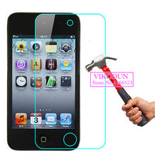 For iPod Touch 4 glass film 9H 2.5D Tempered Glass Screen Protector Film Cover Guard projector glass screen protection lcd