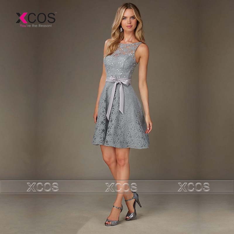 Popular wedding guest dress buy cheap wedding guest dress for Grey dress wedding guest