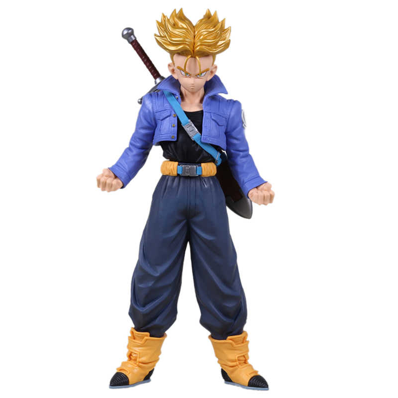 Anime Dragon Ball Z hot toys Super saiyan Trunks PVC figurine DragonBall Z Action Figures Collection Model brinquedo menino Doll()