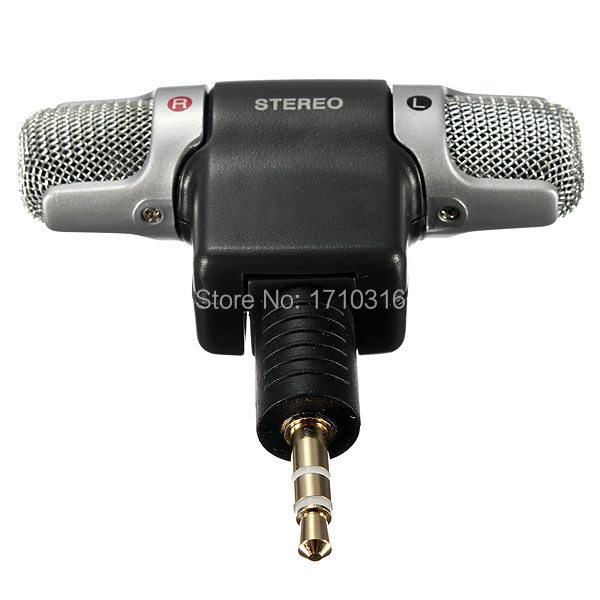 Lowest Price Portable New Mini Mic Digital Stereo Microphone for Recorder PC Laptop MD VoIP MSN Skype Hot Sale(China (Mainland))