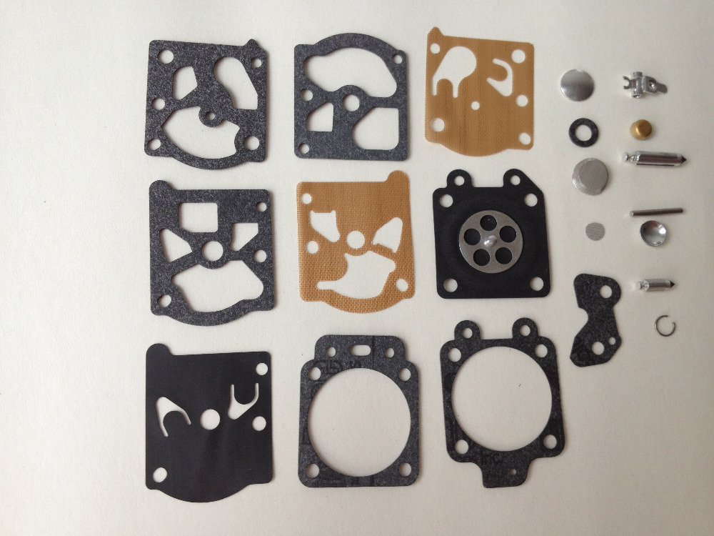 3sets Carburetor Carb repair Kit K20-WAT WA WT with Rebuild Gasket Diaphragm parts fits Walbro trimmer,chainsaw,weedeater,echo(China (Mainland))