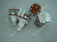 [SA]149 [ width foot ] potentiometer switch B500K Rib 9MM Handle length 15MM--2 - SA ELECTRONICS TECHNOLOGY LIMITED store