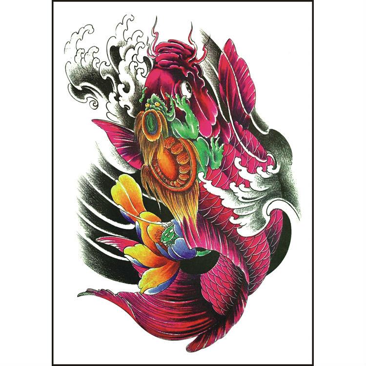 Fish tattoo compra lotes baratos de fish tattoo de china for Peces koi baratos