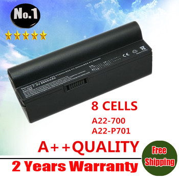 wholesale Replacement battery for  Eee PC 701  2G 2G Surf 4G Surf 8G 900 A22-700 A22-P700 A22-P701 8 cells Free shipping