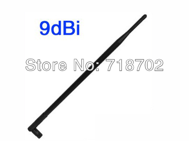 Free Shipping 5pcs 9dbi 2400-2500MHz Sma Female Connector Omni Wifi Antenna Aerial(China (Mainland))