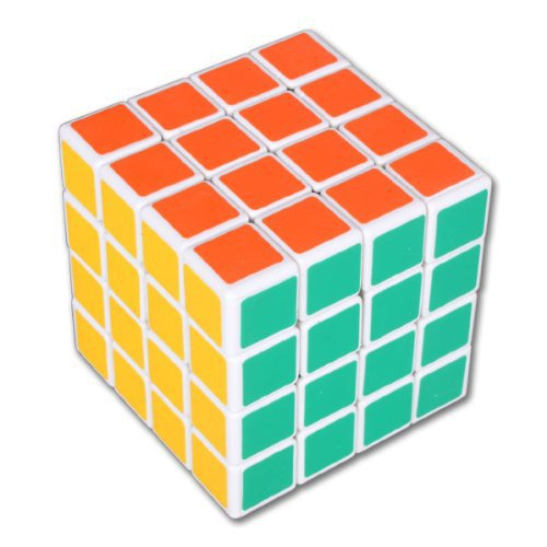 Hot Sale ! Deal-Wholesale Shengshou 4x4 White Core Speed Puzzle Magic Cube 4-layers Intellectually Challenging(China (Mainland))