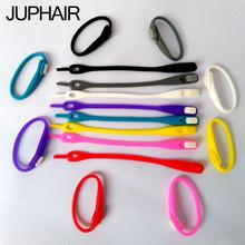 JUP1 Set (16Root/Set) Multicolor Shoelace Laces Shoelace Buckle Flat Square Head Bracelet Canvas Leisure Sports Silicone Elastic(China (Mainland))