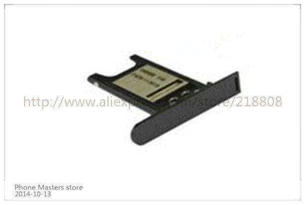 100pcs/lot for Nokia Lumia 800 N800 Sim Tray Card Slot Holder black and white free shipping by DHL(China (Mainland))