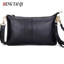 Buy First layer cow leather women messenger bags phone clutch bag high genuine leather bag small ladies shoulder bag Flap 1 for $11.06 in AliExpress store