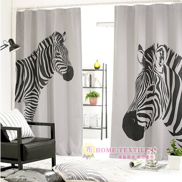 online buy wholesale curtains zebra print from china curtains zebra