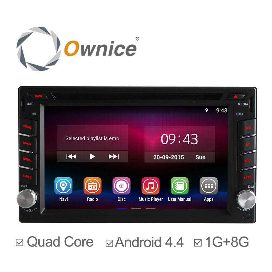 Здесь можно купить  2 Din Car DVD Player Universal Android 4.4.2 GPS Radio,Video,Built-in WIFI Bluetooth,RDS navigation Player Support 3G OBD TPMS  Автомобили и Мотоциклы