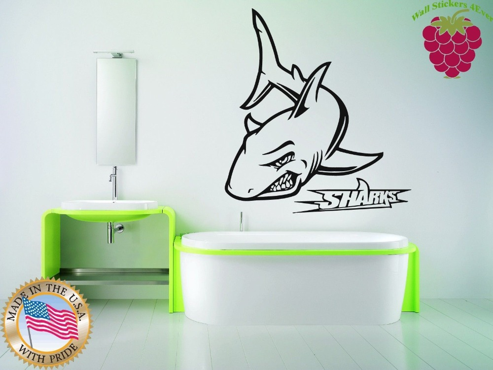 Shark bathroom decor