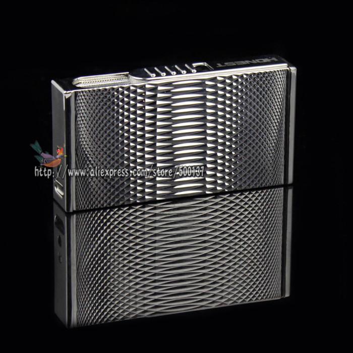 ถูก ซื่อสัตย์ใหม่ในกล่องของขวัญหรูหราออกแบบUSBควันบุหรี่Windproof Arcเบาแบบชาร์จไฟอิเล็กทรอนิกส์
