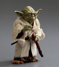 Star war action figure toys Jedi Knight Master Yoda PVC action toys 12cm(China (Mainland))