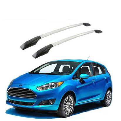 2Pcs/Set Car Roof Rack Roof Top Rack Luggage Roof Rack Cross Bars Car Roof Bars for Ford New Fiesta for Ford Fiesta Accessories(China (Mainland))