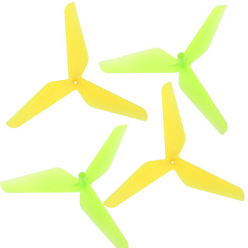 High Quality New 4PC 3 Blade Propeller for Syma X5C JJRC H5C Toys Wholesale Free Shipping