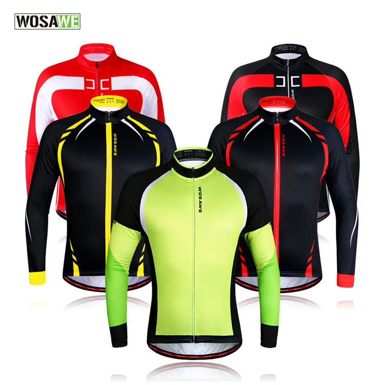 WOSAWE2016 man or woman  New Thermal Fleece Cycling Jacket autumn and Winter Fleece riding suit thermal cycling clothing bicycle<br><br>Aliexpress