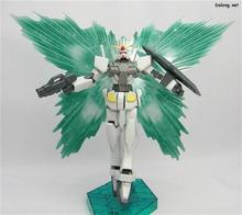 gundam model 1:144 00 HG 15cm O gundam with light gray wing version Assembled Gundam Model toy GN Drive