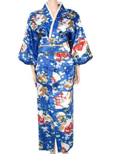 Новизна женщин атласа юката хаори японские